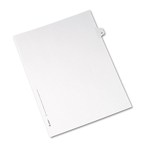 allstate-style-legal-side-tab-divider-title-45-letter-white-25-pack-sold-as-1-package