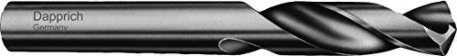 MEGA-TECH Spiralbohrer VHM Vollhartmetall, extra kurz DIN 6539K, rechtsschneidend: Ø 5,00 mm x Gesamtlänge 62 mm x Arbeitslänge 26 mm