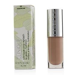 Clinique Pop Splash Lip Gloss + Hydration -  02 Caramel Pop 4.3ml/0.14oz