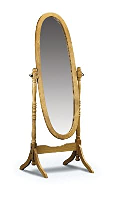 Julian Bowen Pickwick Pine Cheval Mirror