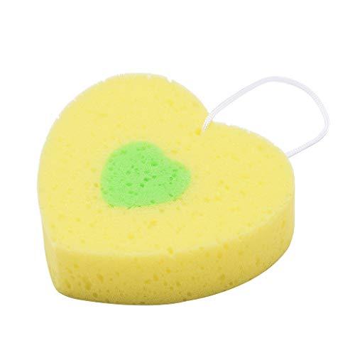 Yvelands Vasca da Bagno in Spugna a Forma di Fiore per Bambini Confortevole Scrubber Corpo in Spugna(K)