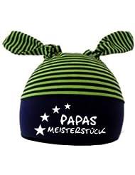 mitwachsende Baby - und Kinder Mütze Papas Meisterstueck / in 7 Designs / Größen 0-36 Monate