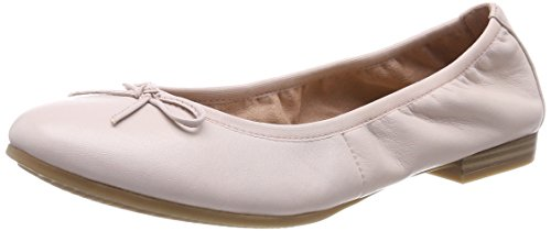 Tamaris Damen 22116 Ballerinas, Pink (Rose Leather), 39 EU