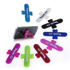Universal Portable Touch U One Touch Silicone Stand for iPhone Samsung HTC Sony Mobile Phones Tablets - Color May Vary  available at amazon for Rs.65