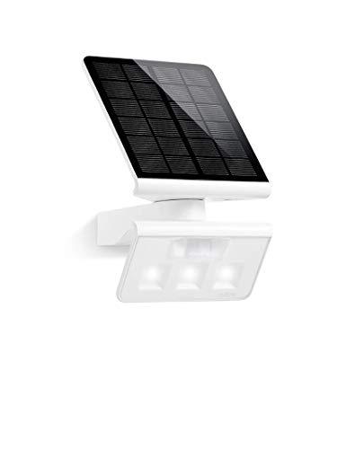 Steinel XSolar L-S - Lampe solaire extérieur á LED blanc à détecteur de  mouvement infrarouge 140°, applique solaire