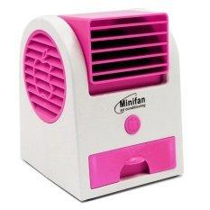 Ecom Mini Portable Fan Cooling Desktop Bladeless Air Conditioner