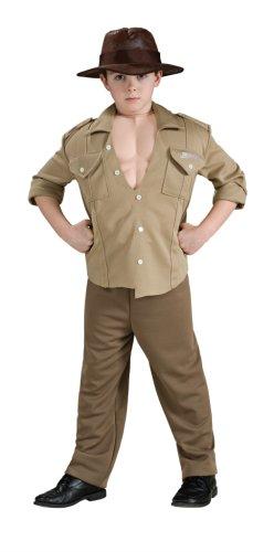 Kinderkostüm - M-128 cm (Deluxe Indiana Jones Kind Kostüme)