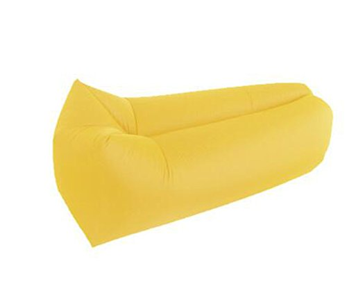 L&ZR Aufblasbare Lounger Air Sofa Hängematte-Portable Aufblasbare Couch Air Lounger Mit Tragbaren Paket Air Chair Für Camping Reisen Picni Pool Wandern - Bag Bean Tür