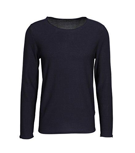 drykorn pullover herren Drykorn Herren Pullover Rik aus Baumwolle in Blau 30 blau M