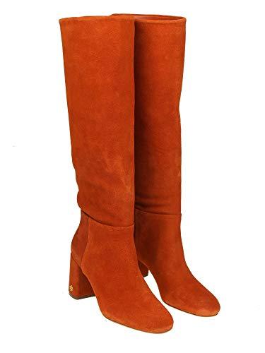 Tory Burch Damen 49136217 Orange Wildleder Stiefel