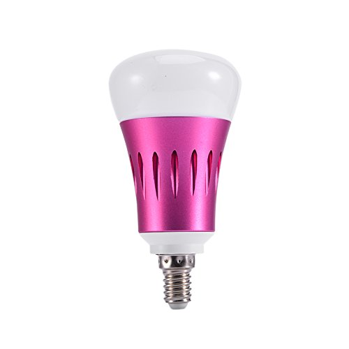 Preisvergleich Produktbild YDYG RGB Alexa 7W 810lm,  LED WiFi Smart Bulb Funktioniert mit Google Home,  IFTTT,  Dimmable Timing RGBCW Tunable White (2700-6500K) E14