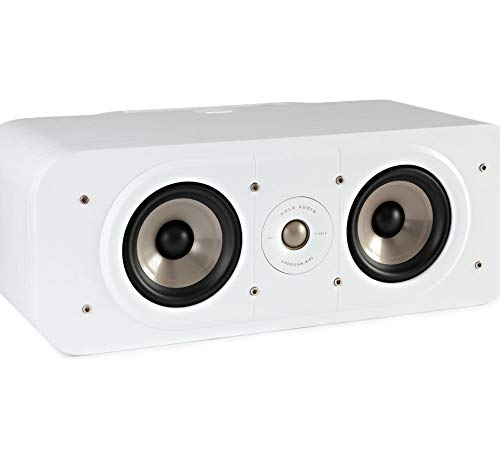 Polk Audio S30CE Signature Polk Audio Signature S30 E Mini Center-Lautsprecher, weiß Audio-style