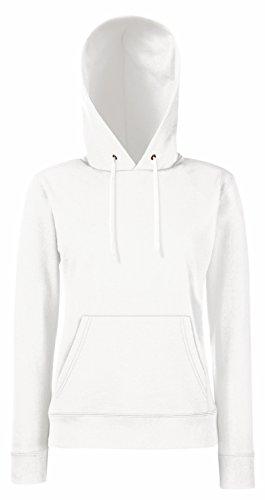 Fruit Of The Loom - Sweatshirt à capuche - Femme Blanc