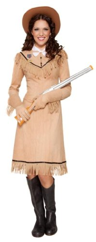 Smiffy's Disfraz de vaquero del oeste para mujer, talla L (211303)