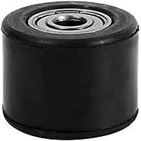 8 mm Rodillo de la polea del tensor de la polea de cadena, guía de