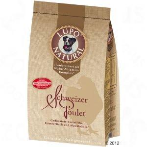 Lupo Natural Schweizer Poulet Hundefutter (kaltgepresst) - 5 kg -