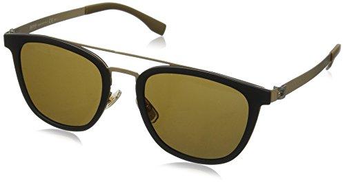 BOSS Hugo Herren 0838/S EC 72Y Sonnenbrille, Gold (Mtbk Mtgold/Brown), 52
