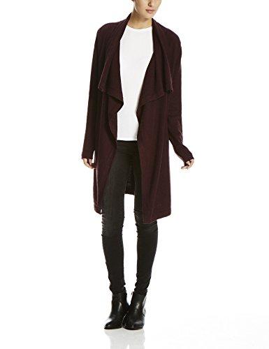 Bench Diction - Cardigan Donna, colore rosso (sassafras marl bu023x), taglia L