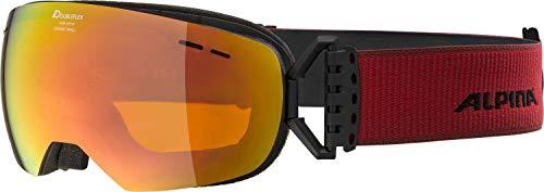 Alpina Granby S MM Snowboardbrille black matt, Einheitsgröße