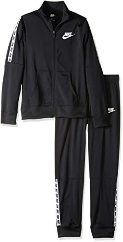 Nike Young Athletes, Suit Bambina, Black/White, M, 10 - 12 anni