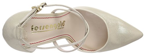 Fersengold Paris, Decolleté chiuse donna Oro (Gold (Gold))