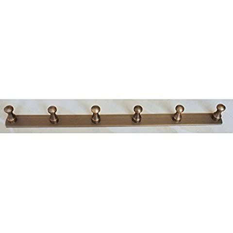 Hooked gancio di rame Fine Style rurale Antique Row Hook antico Hook Solid ( dimensioni : L. )