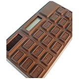 Out of the Blue Taschenrechner aus Schokolade groß