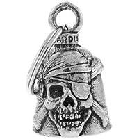 Campana Portafortuna Latta Testa di Morte Pirata Guardian Bell