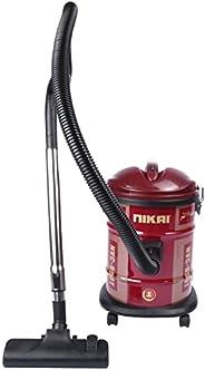 مكنسة كهربائية نيكاي 1400-1600 واط، 17 لتر، احمر - موديلات متنوعة (NVC-950T & NVC9