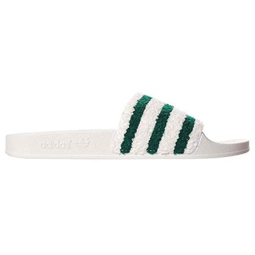 best sneakers 5c235 9b903 adidas adidasBB0124 Adilette da Uomo, Colore Bianco - Bb0124 Uomo, Bianco  (Infradito Colorati