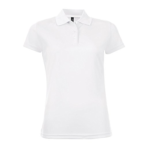 Sol's Performer - Polo à Manches Courtes - Femme Blanc