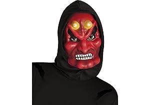 Rubies Disfraz Adulto - Máscara Devil con Capucha