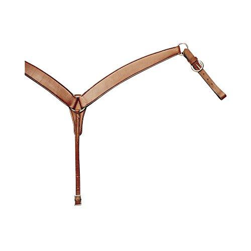 Brustpanzer Western Pool 's aus Leder glatt. Einheitsgröße. Farben: Leder natur, braun, schwarz.lk6010, braun