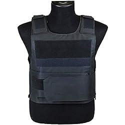 ThreeH Gilet Tactique de Protection extérieure Gilet d'entraînement Militaire Équipement pour la sécurité SA0401B