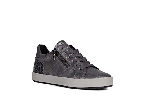 Geox Mujer Calzado Deportivo BLOMIEE, señora Zapatos de Cordones,Calzado,Zapato con Cordones,Calzado...