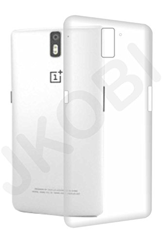 Stylabs Exclusive Soft Silicone TPU Jelly Transparent Crystal Clear Case Soft Back Case Cover For OnePlus One / One Plus One 1+