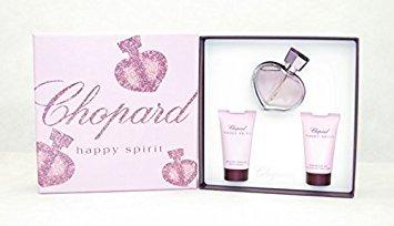 Chopard Happy Spirit Eau De Parfum 75ml 3 Piece Gift Set