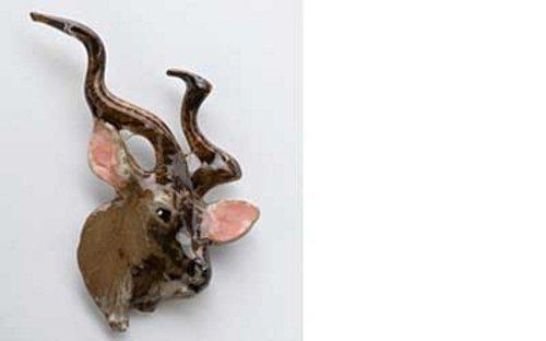 bemalt ~ Kudu ~ Kühlschrank Magnet ~ mp106m (Kudu Kühlschrank-magnete)