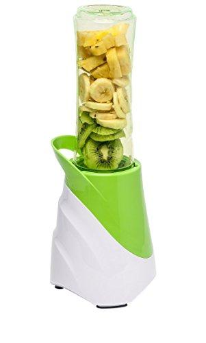 MEDION (MD 15424) Smoothie-to-Go (300 Watt, 570ml Becher, Messer aus Edelstahl, Shakes, Cocktails) grün