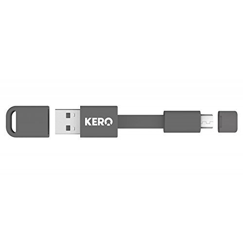 "Kero Nomad 3"" Micro USB Cable Key Ring"