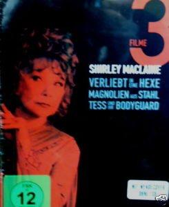 Shirley Maclaine Big  Box Edition: Verliebt in eine Hexe / Magnolien aus Stahl / Tess und Ihr Bodyguard Magnolia Box
