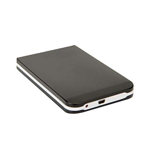 CDKJ 2,5 Zoll USB 3.0 SATA Externer Wechselfestplatte Festkasten Aluminiumlegierung Fall Converter Fall Shell-Fall für PC Laptop - Schwarz