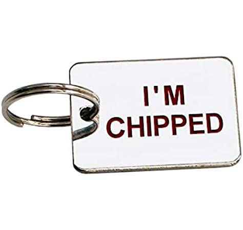 TICK GIFT MESSAGE BOX AND ENTER ENGRAVING DETAILS UPON PURCHASE DOG ID TAG IM CHIPPED TAG ENGRAVED FREE