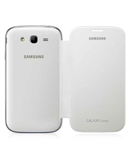 Evoque Flip Cover For Samsung Galaxy Grand I9082 White  available at amazon for Rs.149