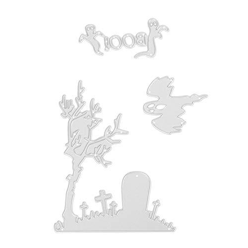 3 stücke Halloween Stanzformen Schablonen Sammelalbum Präge DIY Karte (MS-495) von heummyo