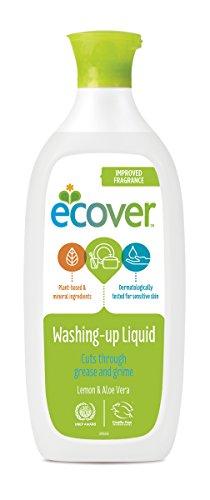 Ecover 285441 Geschirrspül mittel mit Zitrone, 500 mL, EN, VOC 5,51%