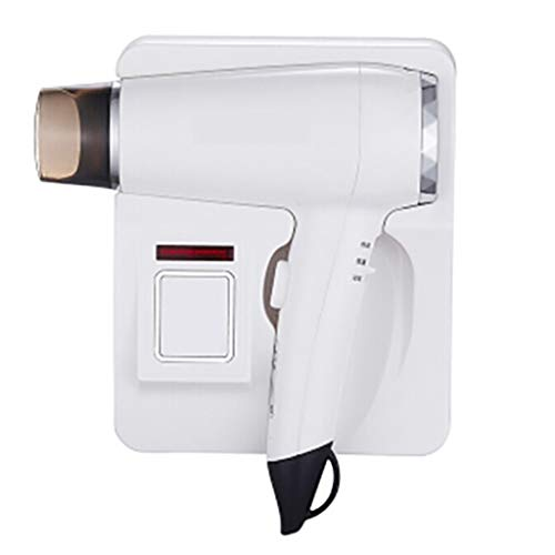 Wall Mounted Hairdryer High-Power-Haartrockner 57o konstante Temperatur Haarpflege leise Fön öffentlichen Platz liefert 1600W / Gold, weiß -