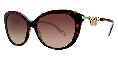 Tiffany & Co. Damen 0TY4130 81343B 56 Sonnenbrille, Braun (Havana/Browngradient),