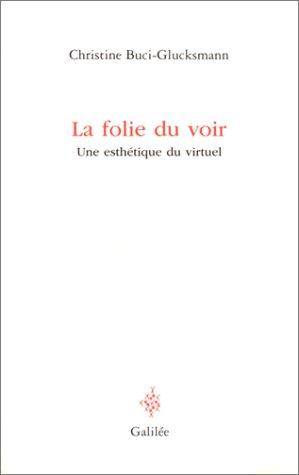 La Folie du voir : Une esthétique du virtuel par Christine Buci-Glucksmann