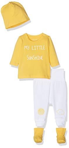 NAME IT Unisex Baby NBNUBBEHA GIFTPACK Bekleidungsset, Gelb (Daffodil), (Herstellergröße: 68)